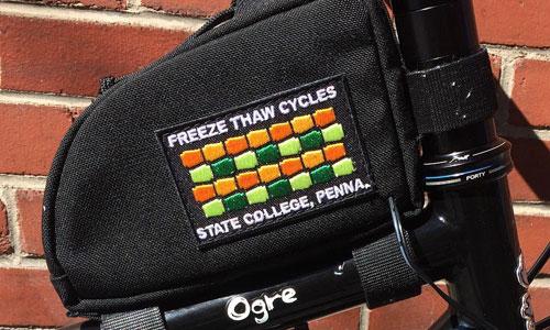 Freeze Thaw Logo post bag
