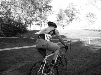 Paul in a Cross Race