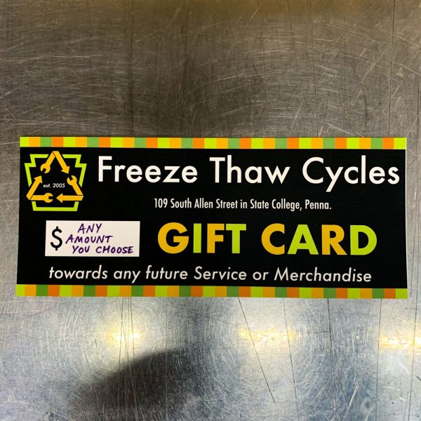 Freeze Thaw Gift Card
