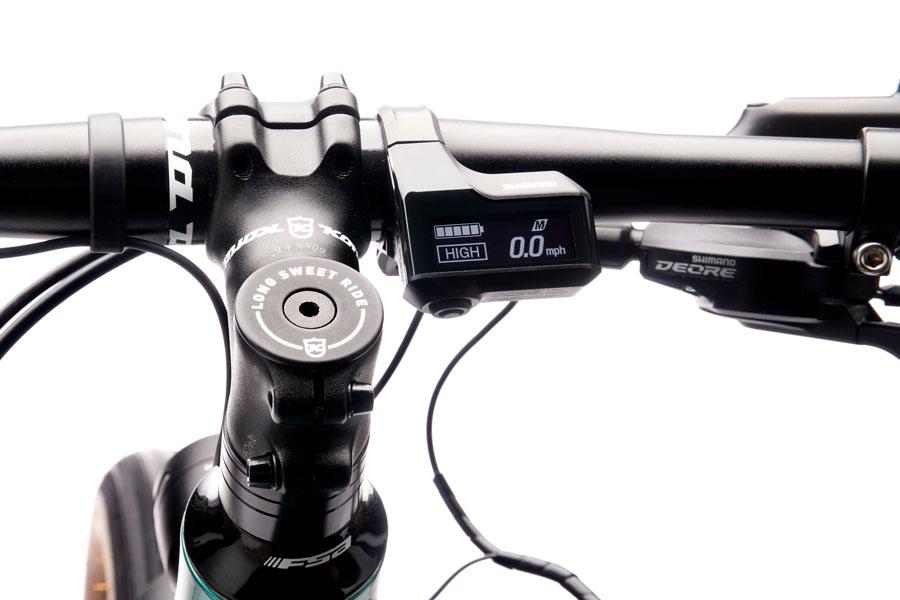 Kona Dew-E DL Electric Bike power bar