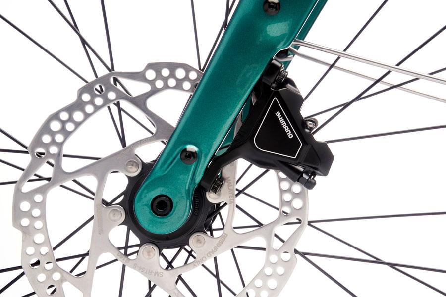 Kona Dew-E DL Electric Bike disc brakes