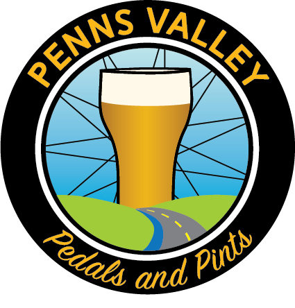 Penns Valley Pedals and Pints Logo